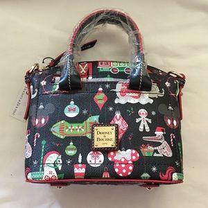 Disney Dooney & Bourke Holiday Christmas Satchel